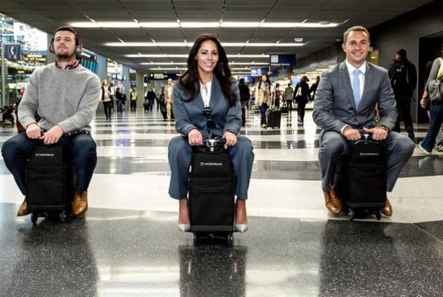 ついに人が乗れる電動スーツケースが販売開始に!