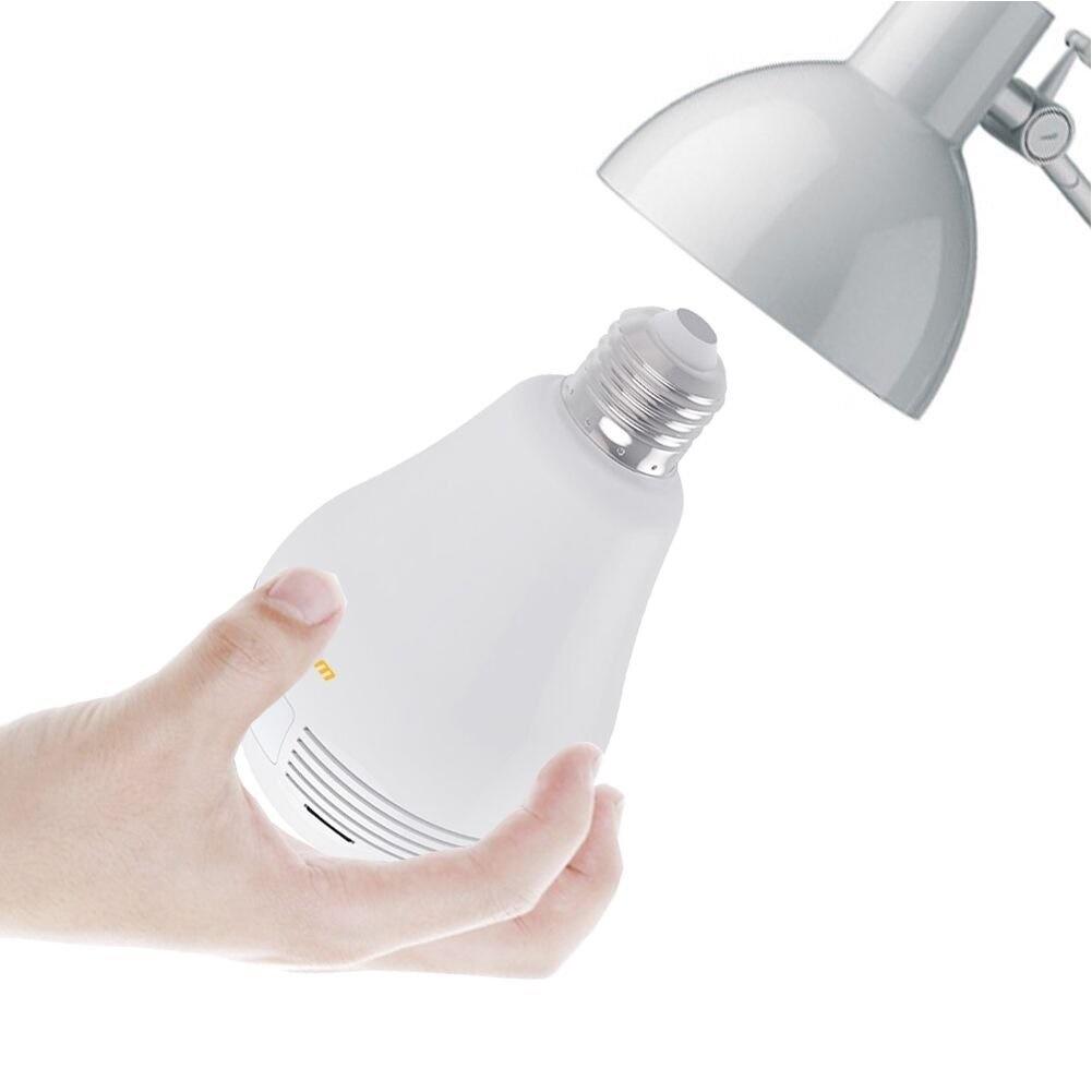 LED電球型カメラなら誰にもバレずに360度を監視