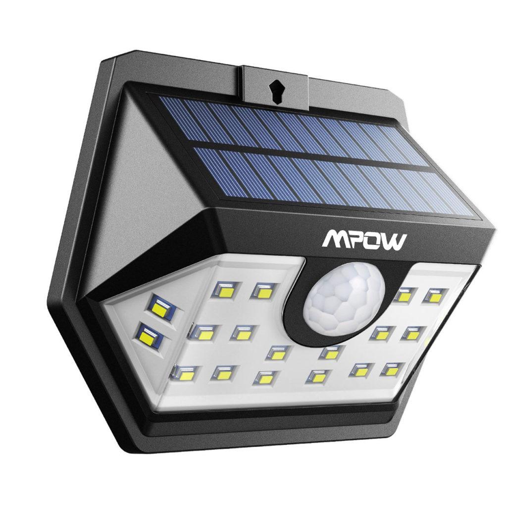 防水ソーラー発電ライト 工事不要で簡単に設置できる