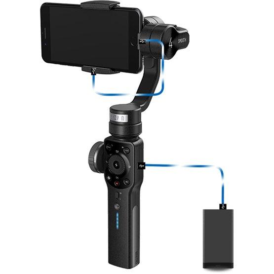 スマホでプロ並みの動画撮影ができる3軸ジンバル