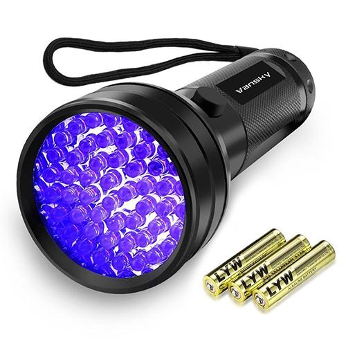 Vansky 51LED 紫外線ブラックライト UVライト