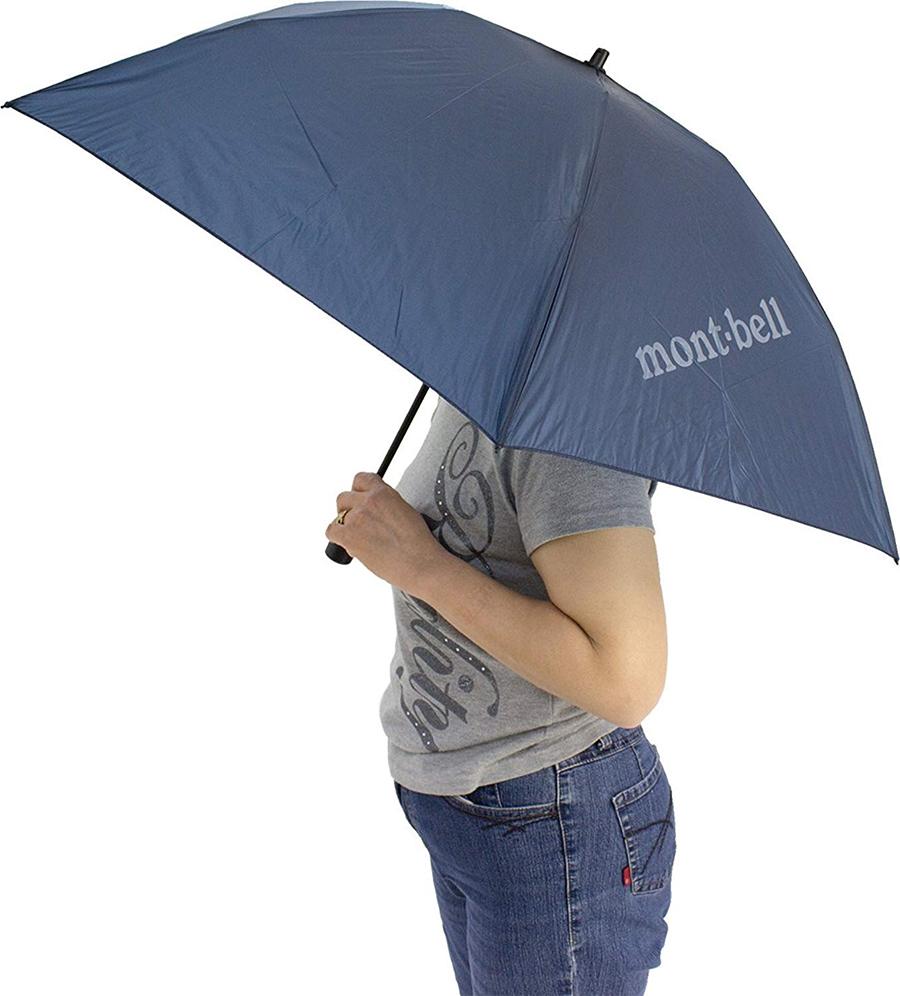 折りたたみ傘ならモンベル製 毎日持ち歩いても楽チン!