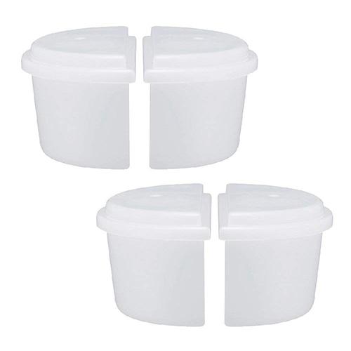 ドウシシャ 製氷カップ かき氷用 ハーフサイズ 2個セット