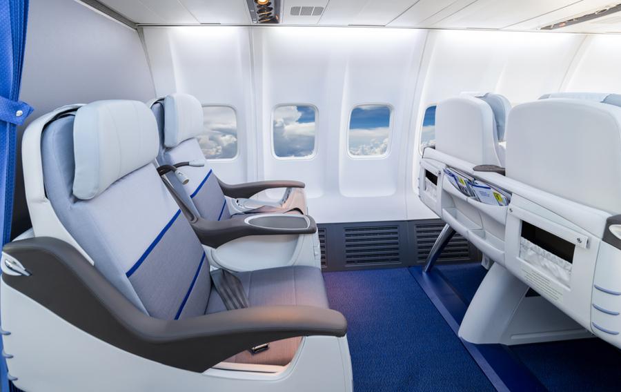 搭乗前に格安で「ビジネスクラスへ」アップグレード!