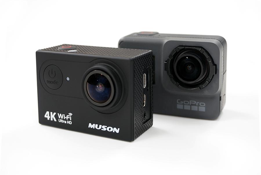 「MUSON MC2」VS「GoPro HERO5」徹底比較