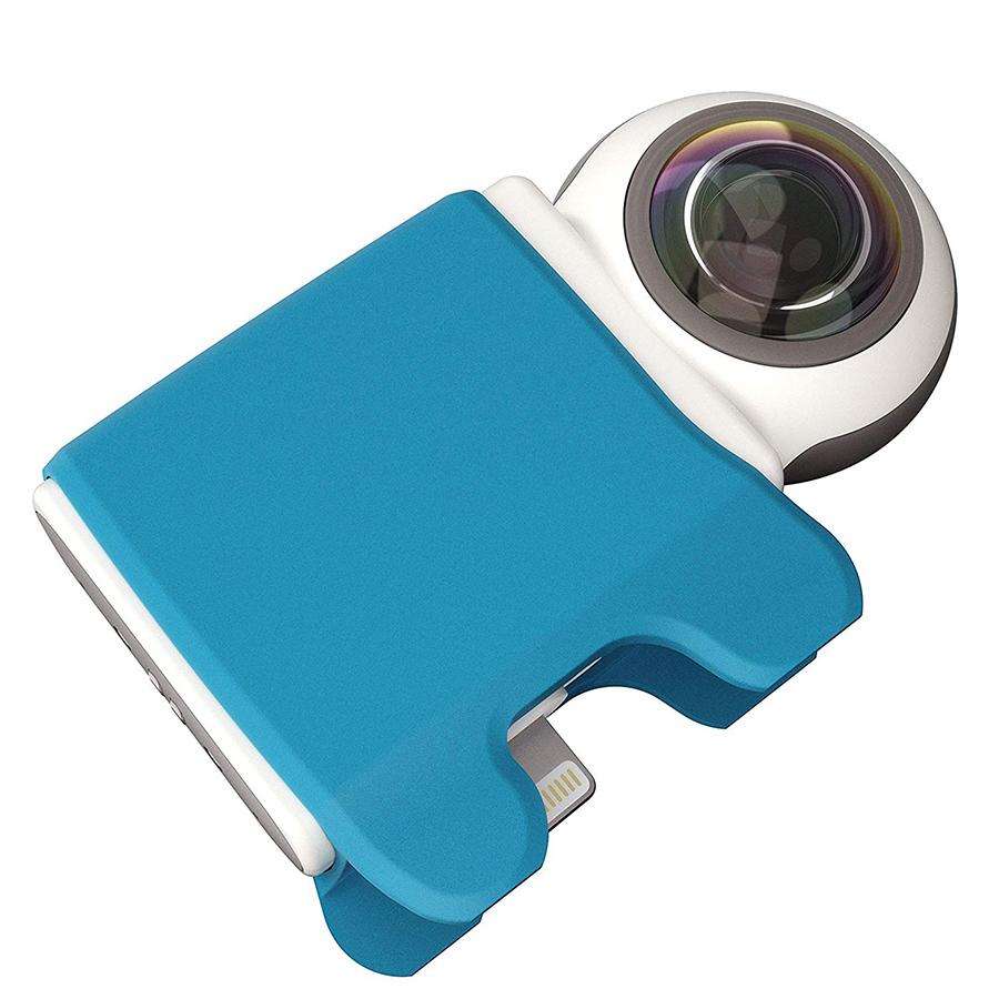 【360度カメラ】スマホに着装するだけでOK!