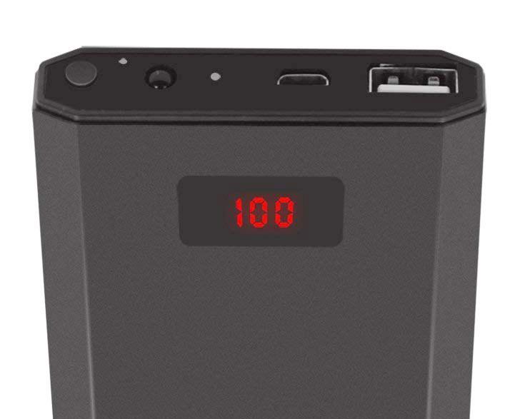 大容量モバイルバッテリー型隠しカメラ!最大24時間作動