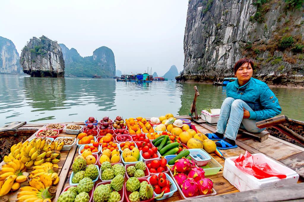 【ベトナム】ハロン湾「龍が舞い降りた伝説の海に浮かぶ村」
