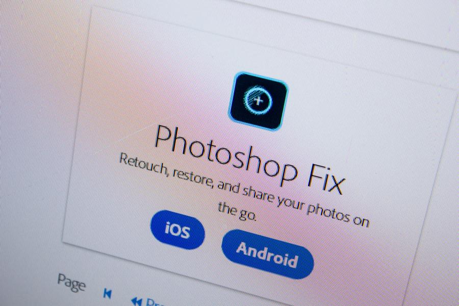 スマホで写真加工するなら「Adobe Photoshop Fix」がオススメ!
