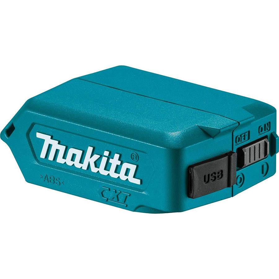 工具メーカーマキタのバッテリーをスマホ充電器にできるUSBアダプタ