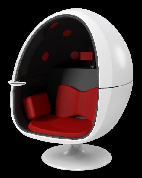 【悩み解決】VRゲームにおすすめ! 半卵型サラウンドスピーカーチェア