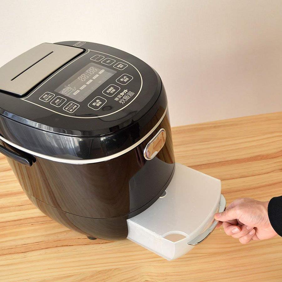 【便利グッズ】普通に炊くだけで低糖質ご飯ができる炊飯器!