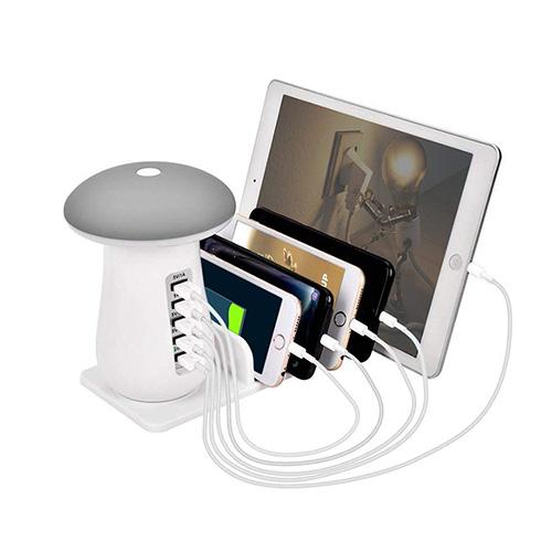 充電ステーション 充電スタンド 5ポート USB充電器