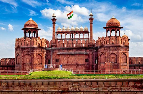 【インド】首都デリーに建つ城塞「レッド・フォート(赤い城)」