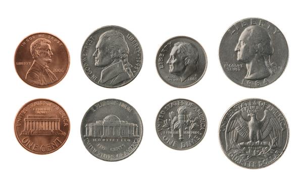 誰でも簡単に米国で余った5&10セント玉を25セント玉に両替できる裏技