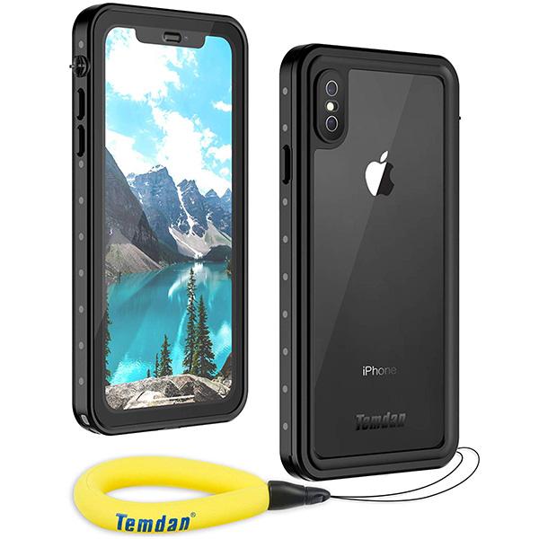 Qi充電&フェイスID対応の防水・米軍規格の耐衝撃iPhoneケース!