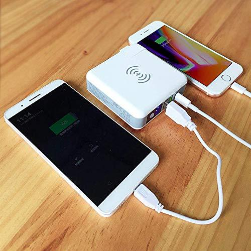 【便利グッズ】ワイヤレス充電「Qi」対応の万能モバイルバッテリー!