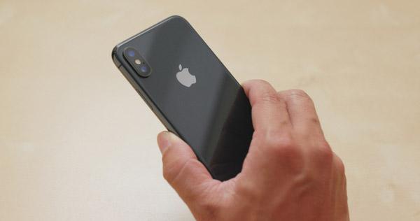 iPhoneXでも撮影後にボケを調節する方法(「深度コントロール」)