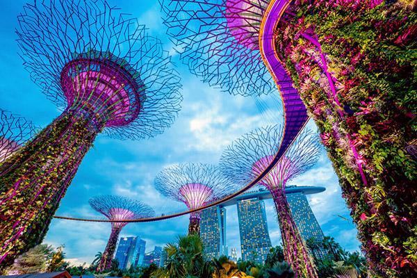 【シンガポール】近代建築とアジア情緒が融合した、世界有数の国際都市
