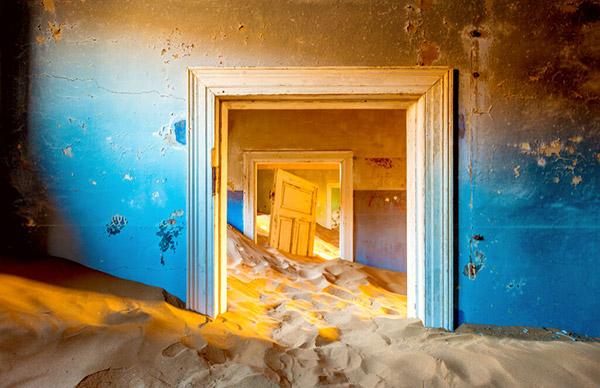 【ナミビア】ナミブ砂漠「砂に飲み込まれゆく、砂漠のゴーストタウン」