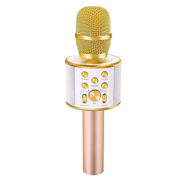 【面白グッズ】「Bluetooth対応カラオケマイク」スマホの音楽データと連動
