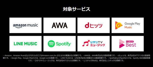 OCNモバイルONEの「MUSICカウントフリー」は追加料金なしで聴き放題!
