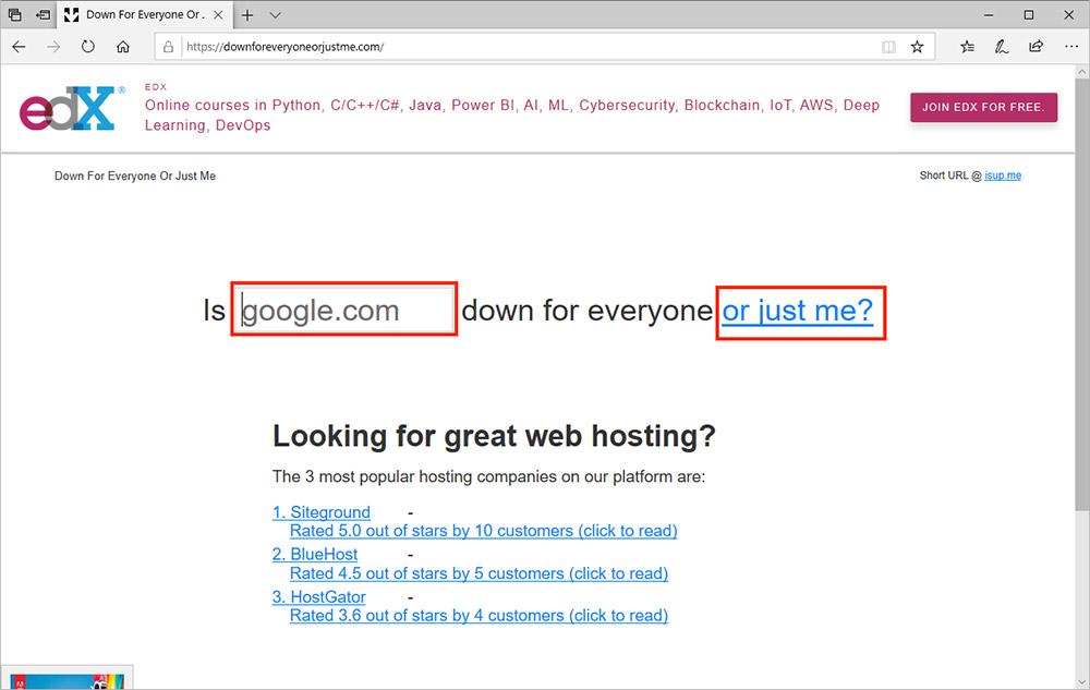インターネットページが表示できない! 原因はパソコン? それともネットの方?