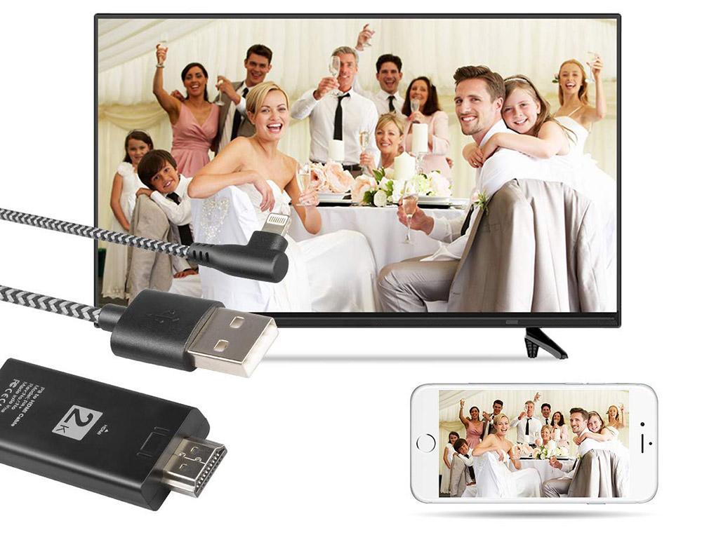 iPhoneやiPadの画面を自宅の大型テレビに映したい!