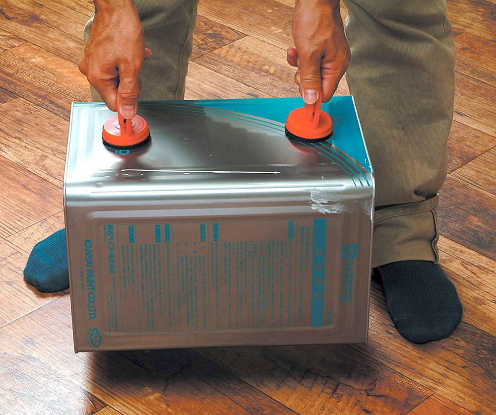 「取っ手」のない荷物の運搬が楽になるバキュームリフターが便利!