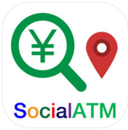 銀行の引出手数料を節約!SocialATM