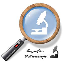 拡大鏡 & 顕微鏡 (ルーペ)