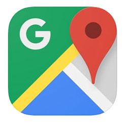Google マップ(iPhone)