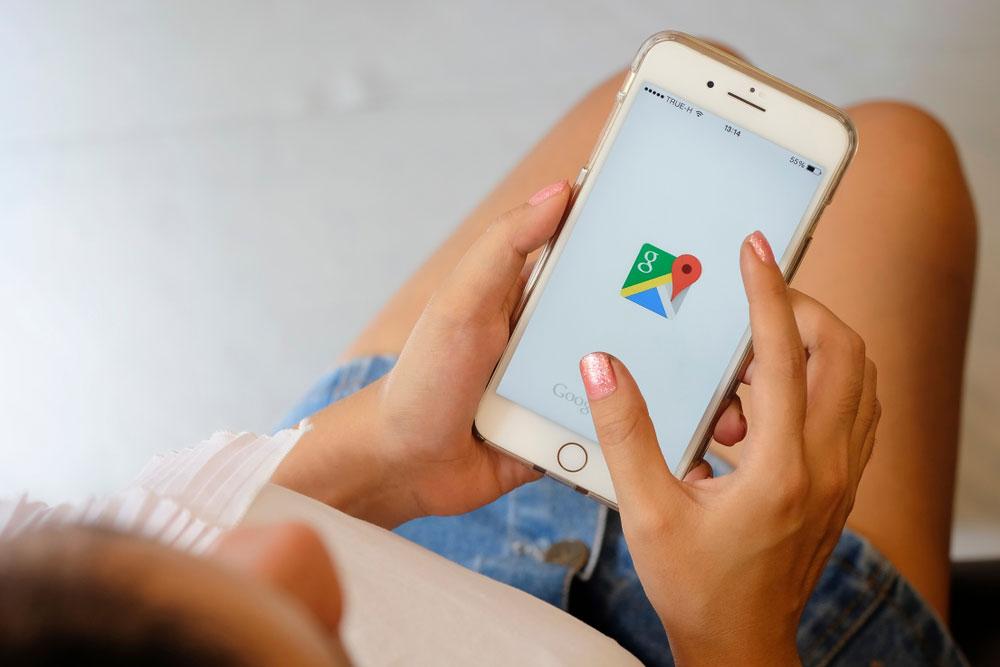 【iPhone】「Googleマップ」でストリートビューを見る方法!