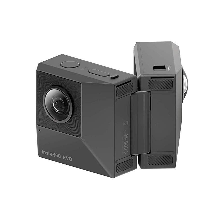 「GoPro」よりユニークな動画が撮れるアクションカメラ「Insta360 EVO」がおすすめ!