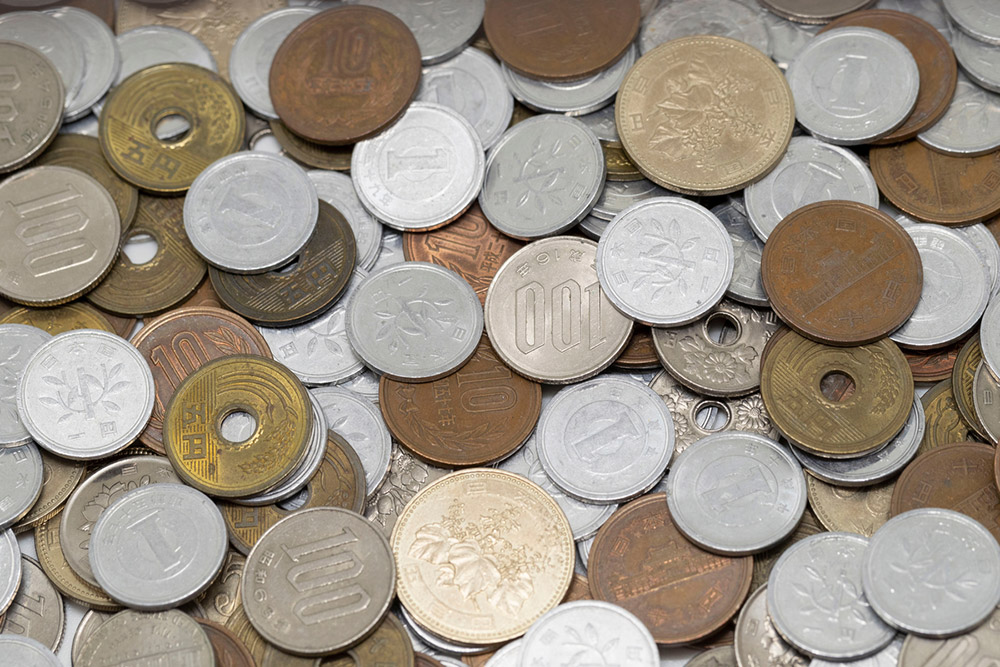 お金(貨幣)は法律で一度に20枚までしか使えないって知ってた?