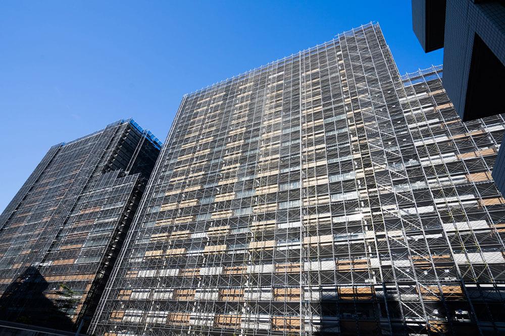 タワーマンションには足場が組めない、修繕費が莫大で足りなくなり資産価値が落ちる?
