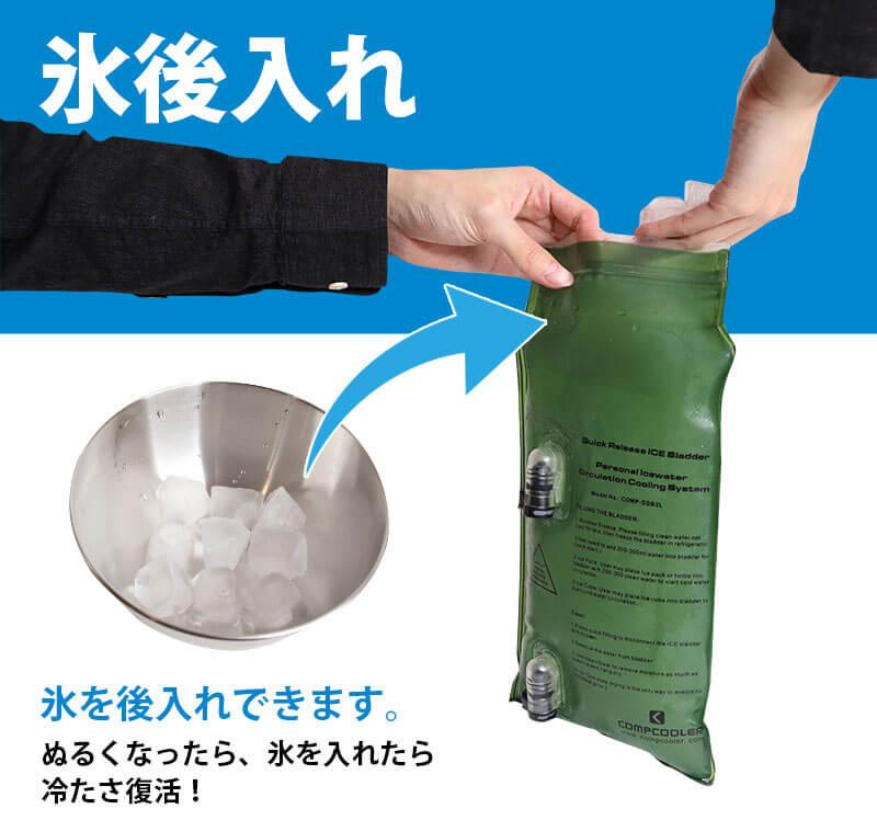 令和の猛暑は冷水を循環させて身体を冷やす「水冷冷却クールベスト」で乗り切れ!