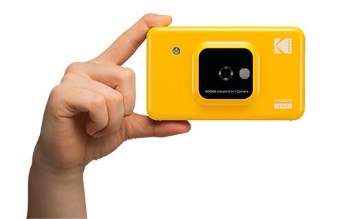 最新インスタントカメラ『KODAKのインスタントカメラプリンター「C210」』が面白い!