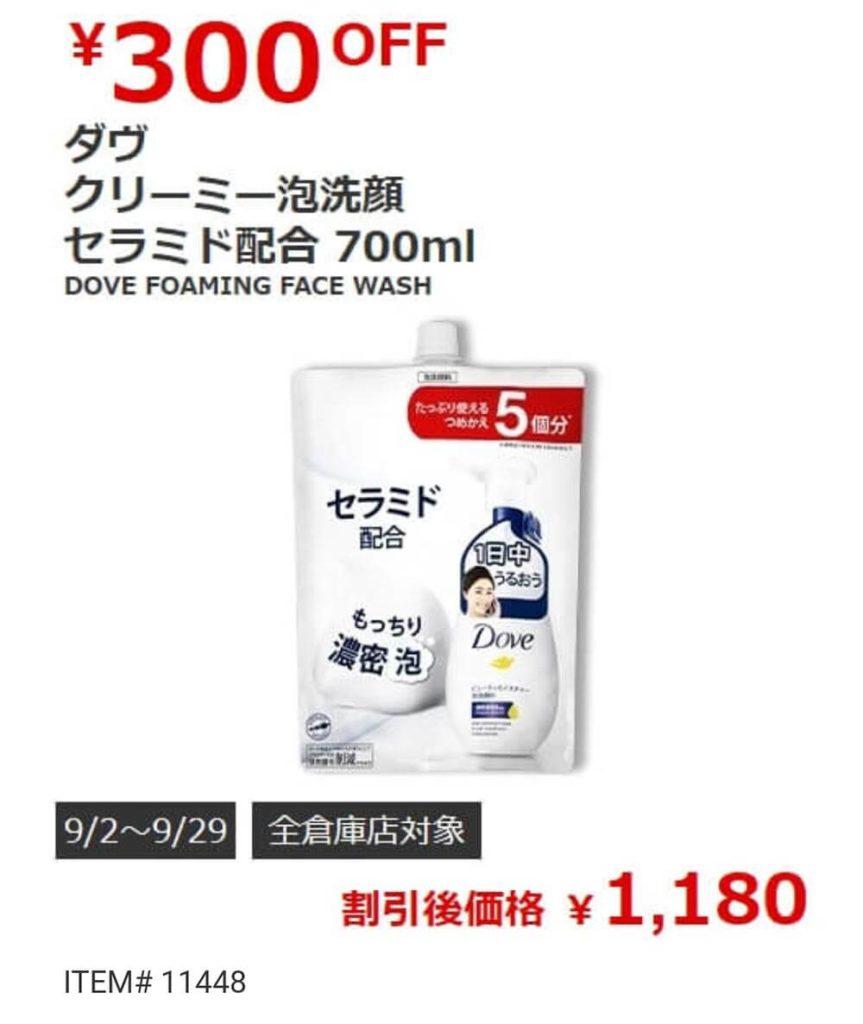 COSTCO(コストコ)セール情報【2019年9月2日最新版】ラックスのシャンプーが格安!
