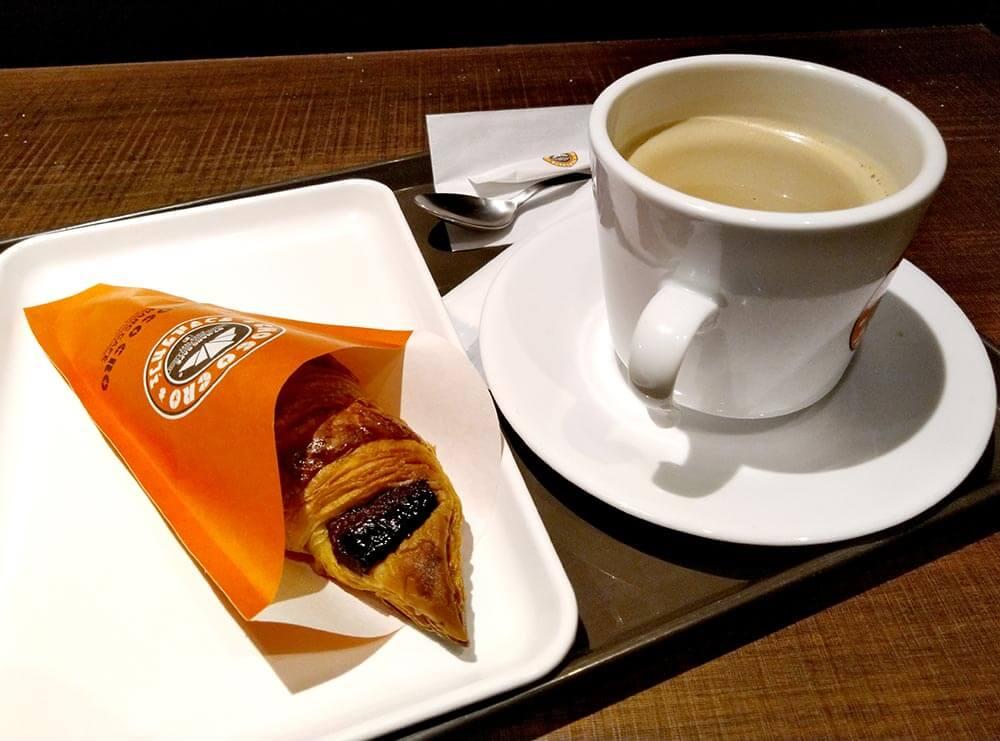 サンマルクカフェで「チョコクロ」を安く買う方法 冷めているときは「温め」も可能!