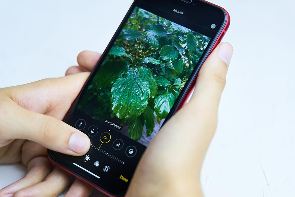 iPhoneの「マークアップ」での塗りつぶしはコントラスト調整で透けて見える可能性が!