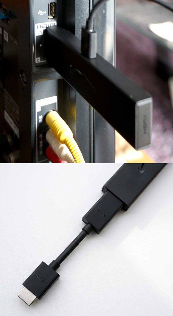 Amazonの「Fire TV Stick」の接続方法と初期設定を実際にやってみた!