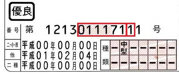 運転免許証番号の末尾12桁目でその人の性格がわかる?! 最後の数字に隠された意味とは!