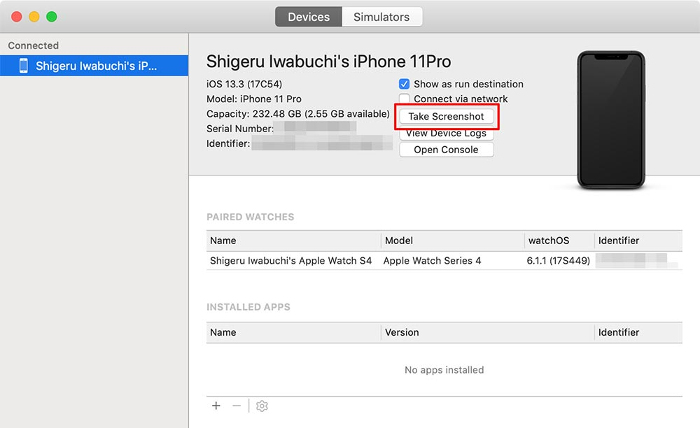 iPhone 11/XS/XR/Xでスクリーンショットを撮る3つの方法 本体のボタン以外の方法もある