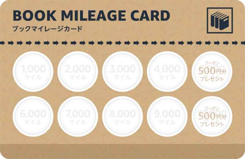 Amazonで「ブックマイレージカード」がスタート 本を買うと最大3,000円クーポンがもらえる