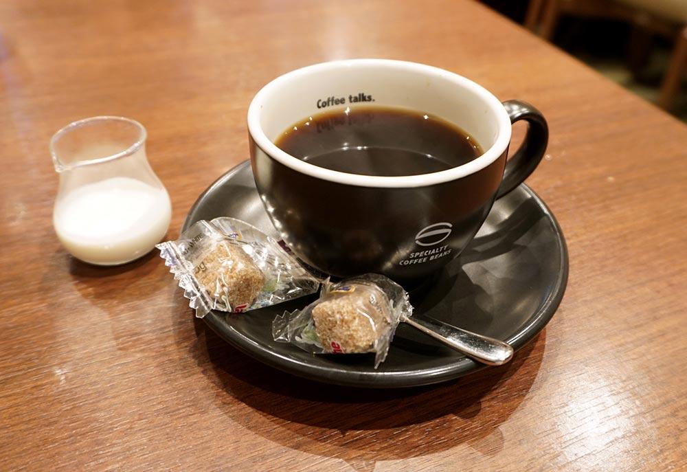 【裏メニュー】「珈琲館」2杯目おかわりは異なるコーヒーでも半額!