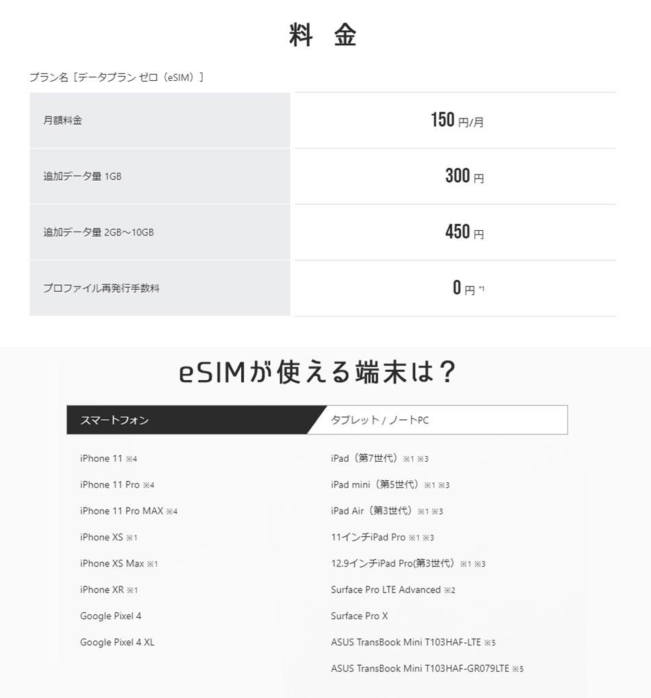 IIJmioのデータ通信「eSIM」が月額150円から利用できる iPhone 11やXSでキャリアSIMと併用可能